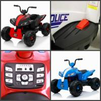 Новые модели квадроциклов для детей