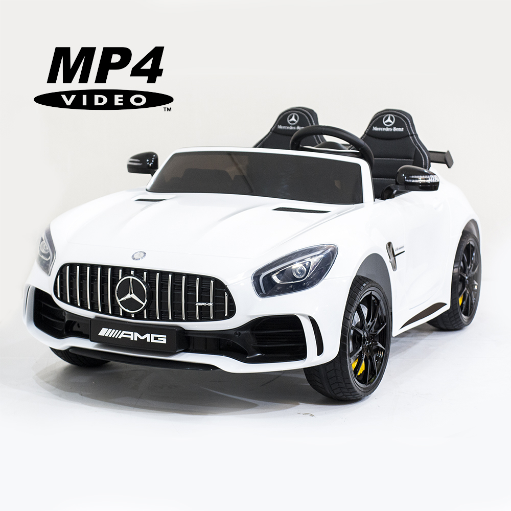 Электромобиль Harley Bella Mercedes-Benz GT R 4x4 MP4 - HL289-WHITE-4WD-MP4
